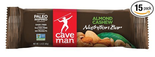 Caveman Foods Almond Cashew Bar