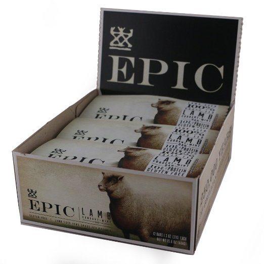 Epic All Natural Meat Bar, 100% Natural, Lamb, Currant & Mint