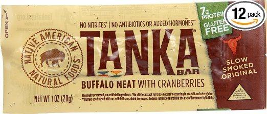 Tanka Bar, natural Buffalo Cranberry Bar
