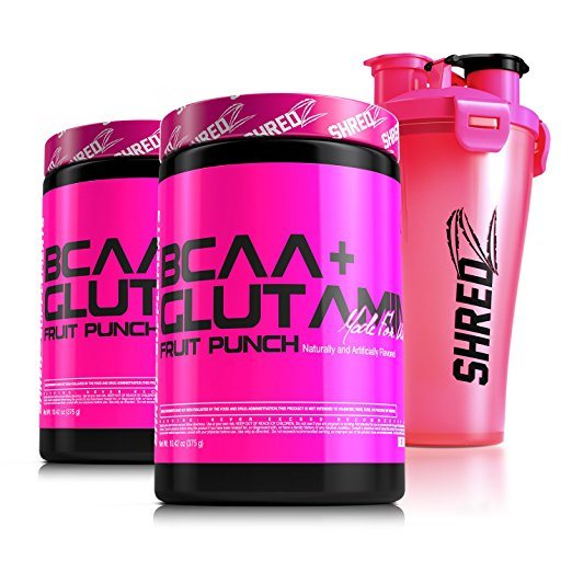 SHREDZ® BCAA + Glutamine Made for Women