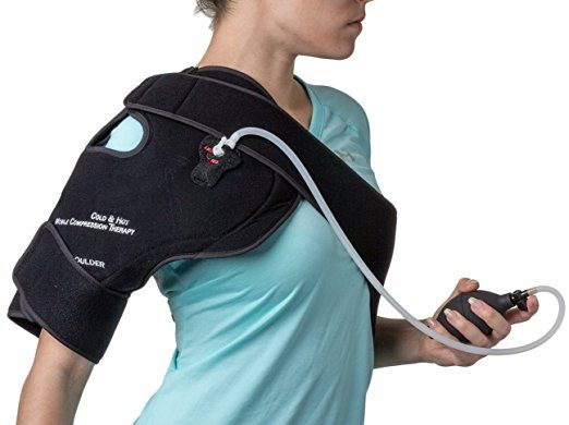 NatraCure Hot,Cold & Compression Shoulder Support