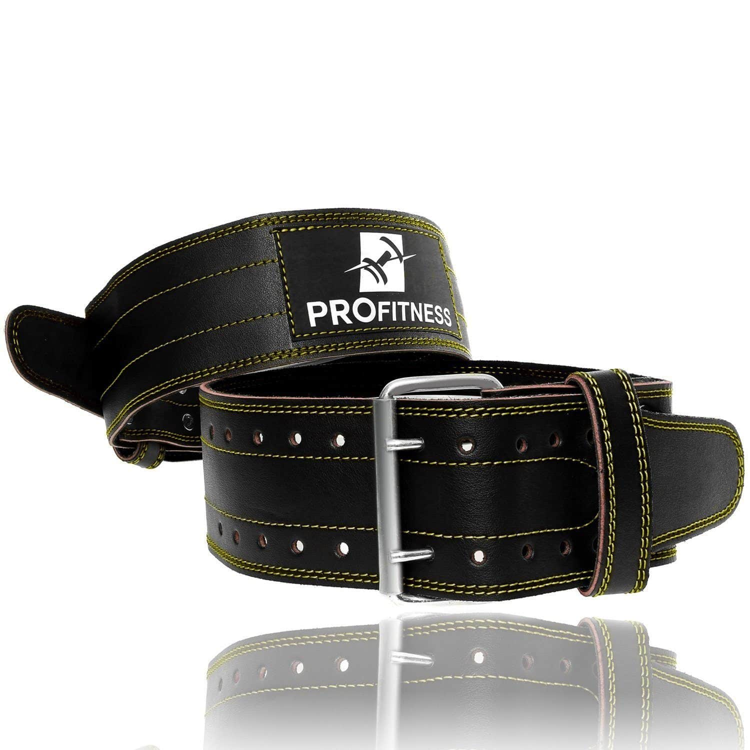 Pro Fitness Genuine Leather Workout Belt