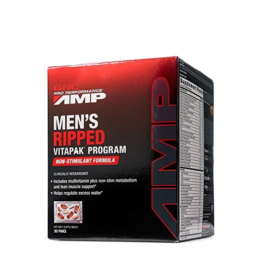 GNC-Pro-Performance-AMP-Mens-Ripped-Vitapak-Program-Supplement