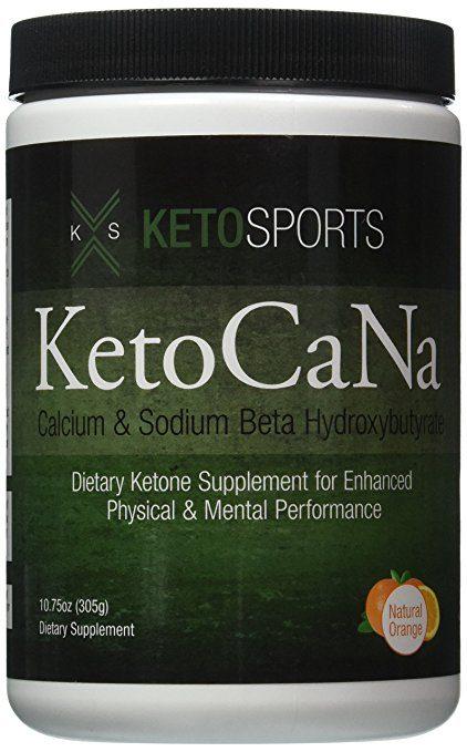 KetoSports KetoCaNa Dietary Ketone Supplement