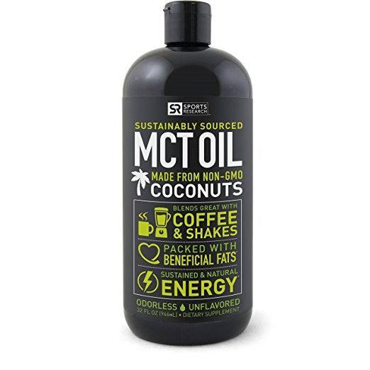 Sports Research's Premium MCT Oil