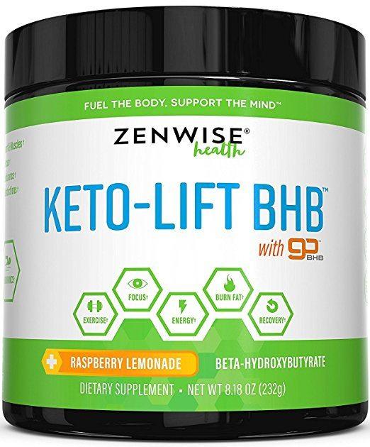 Zenwise Health's Keto-Lift BHB Salts Supplement
