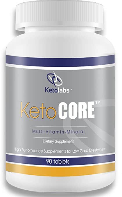 Ketolabs Keto Core Daily Multivitamin with Minerals and Probiotic
