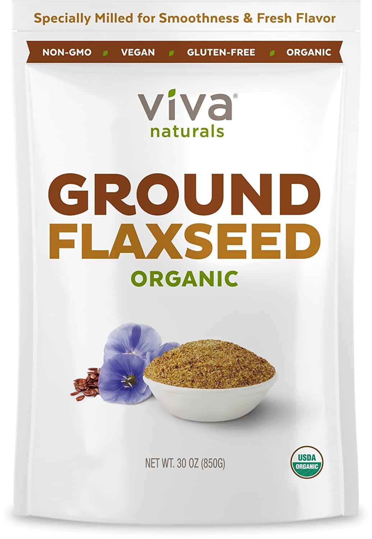 Viva Naturals Organic Ground Flax Seed