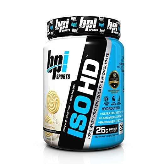 BPI Sports ISO HD Whey Protein Powder