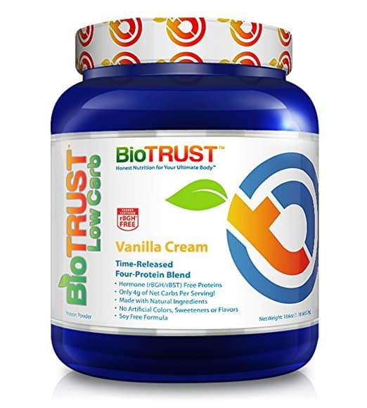 BioTrust Low Carb Grass-Fed Protein Powder