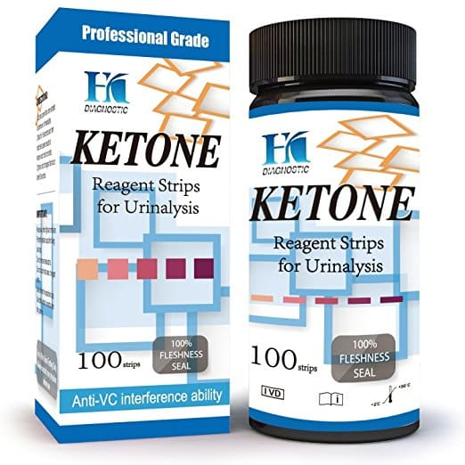 HK Ketone Test Strips