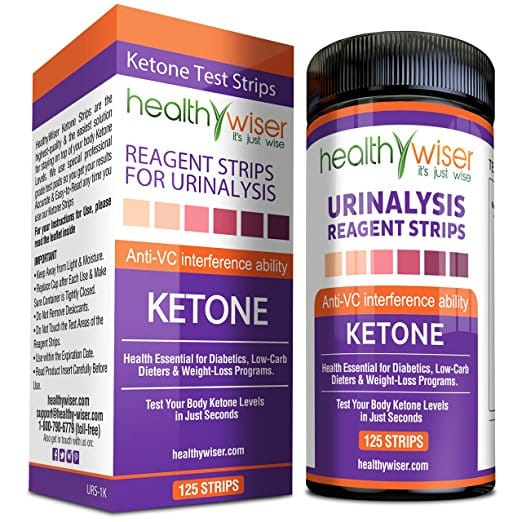 Healthy Wiser Ketone Strips