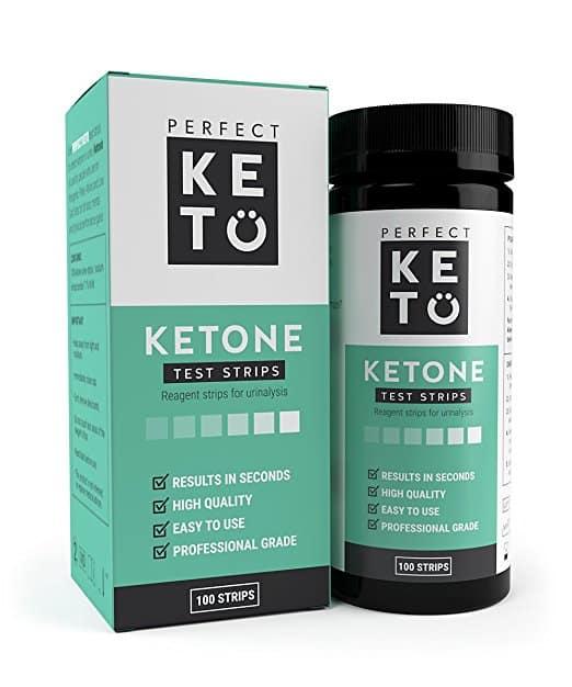 Perfect Keto Ketone Testing Strips