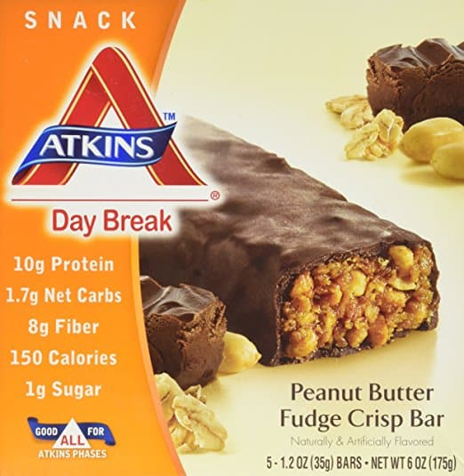 Peanut Butter Fudge Crisp Bar